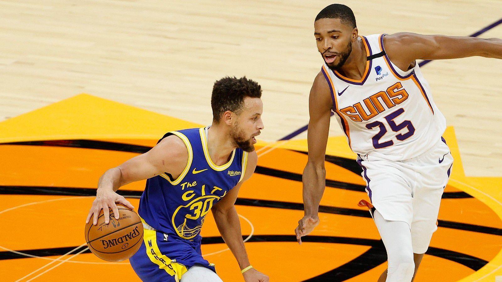 Stephen Curry trop seul face aux Suns