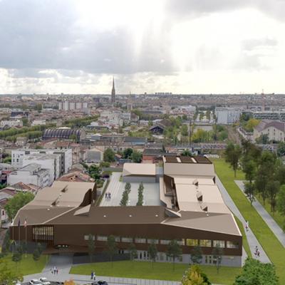Construction du collège Jacques Ellul