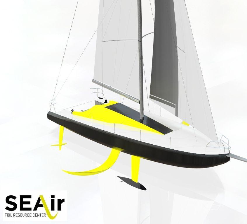 Scoop - SEAir annonce le lancement du premier 40 pieds volant pour 2019!