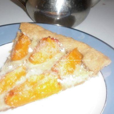 Recette de tarte aux abricots, speculos et coco