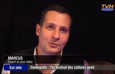"""Sujet de JT : """"Geekopolis, un festival pour les cultures Geek"""""""