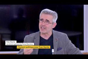 Yves Veyrier, Secrétaire général de FO : « La liberté de se syndiquer : il ne faut pas que ce soit une contrainte. »