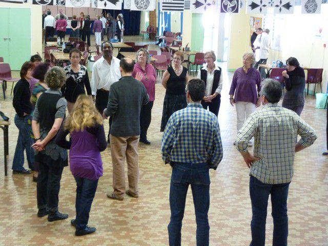 le 6 mars 2010 journée Rencontre autour des musiques à danser de Haute Bretagne avec Tchikidi, Bernard Loffet et Les Courils