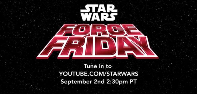 STAR WARS #FORCEFRIDAY: NOËL AVANT L'HEURE !