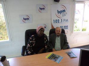 Binta SY et Marc JAMMET sur BPM la radio