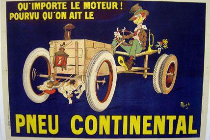 Pneu continental n°3 (1910 )