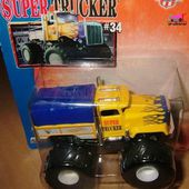 SUPER TRUCKER CAMION BIG FOOT MONSTER JAM HOT WHEELS - car-collector.net