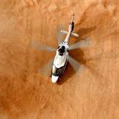 """L'aptitude du futur hélicoptère Guépard à voler dans un environnement """"sable et poussière"""" testée par la DGA"""