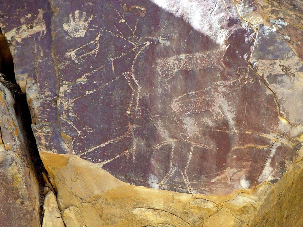 Diaporama : Legend Rock State Petroglyph Site