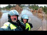 Goldwing Unsersbande - Un couple et une moto dans le Wild West américain 05 jour -  De Flagstaff à Kayenta