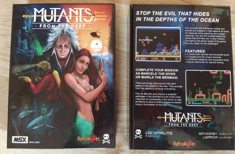 Les mutants des profondeurs sont arrivés sur MSX !