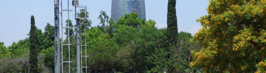 Cité olympique de Barcelonne.