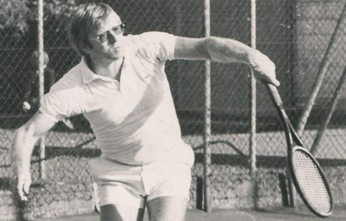 René Danset champion des champions 1980 au Tennis Club Halluinois.
