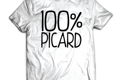 T-shirt: France - Picardie - 100% Picard.