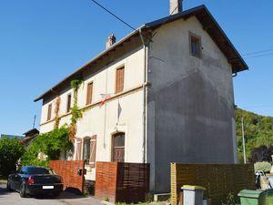 Le quartier rue des Jardins et rue Jean Burger à Algrange