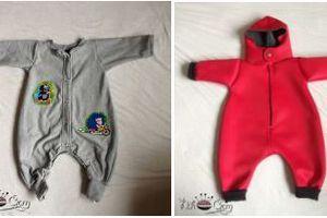 Combinaison Léon pour les bébés