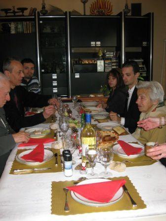 24 et 25 décembre 2008 24 avec Cyril et les parents 25 avec la famille L.