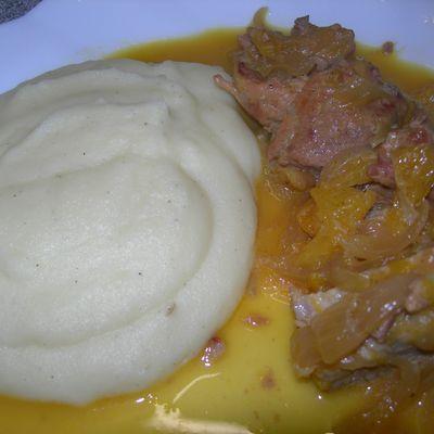 Filet mignon de porc à l'orange