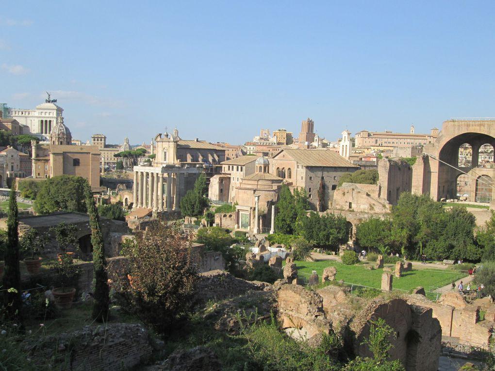 Voyage..... Vacances romaines : Forum romain et Capitole