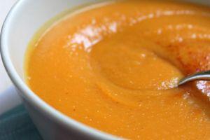 Soupe à la patate douce, courge butternut et lentilles corail aux épices cajun (avec ou sans Cook'in Guy Demarle)