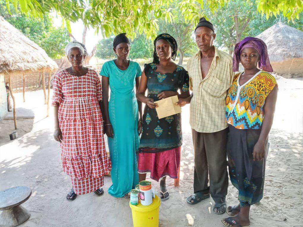 Les groupements de Boussoura, Sinthiou Boukhoum, Saré Youssouph, Saré Demba Soukary et  Marakissa