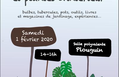 """""""Bourse aux graines et cie"""" Plouguin (29)  Samedi 1 février 2020"""