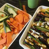 Recette : Tian de légumes à la betterave et patate douce - Les Gralettes