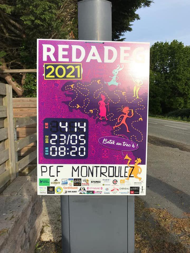 La Redadeg de Plouézoc'h à Morlaix ce dimanche 23 mai - Une belle course de relais chaleureuse pour la défense de la langue bretonne