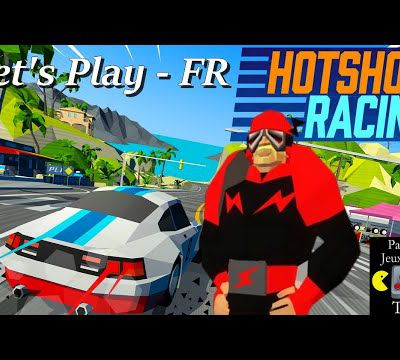 Hotshot Racing - Virtua Racing et Ridge Racer Like (Nouveau Jeu 2020)