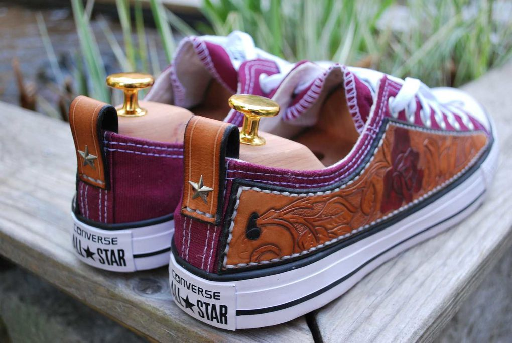 Customiser des Converses
