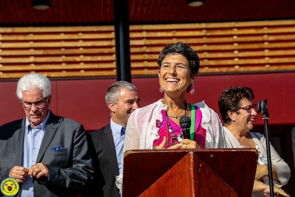 Inauguration des crèches de Castellane le 15 septembre 2018.