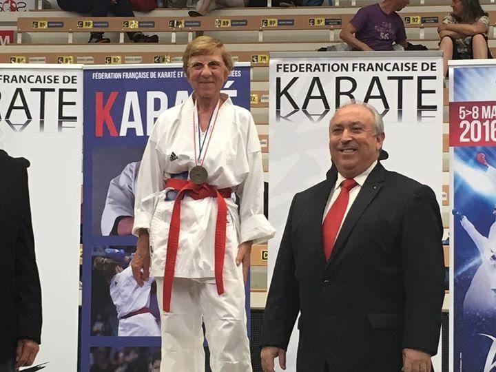 Stephane Gothuey et Marie-Claude Barbin les champions de France vétérans du Sen No Sen