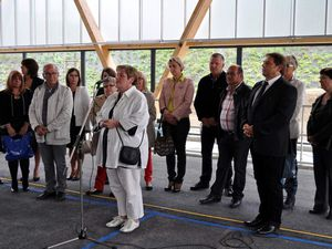 Inauguration de la salle  Espace Nelson Mandela  à Algrange