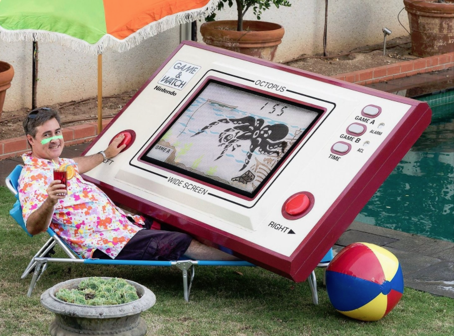 Un grand fan de Game & Watch...