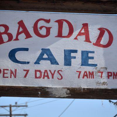 Bagdad cafe on the Road 66