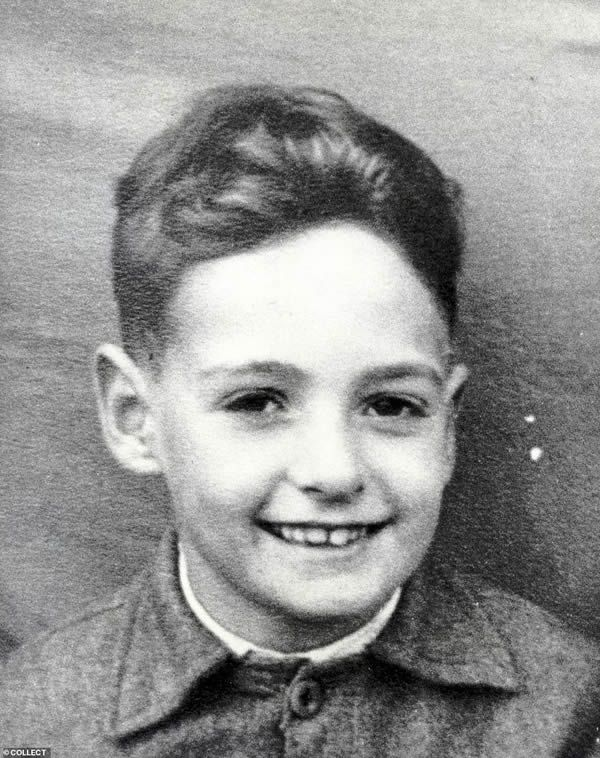 Yorkshire Ripper Peter Sutcliffe aged seven