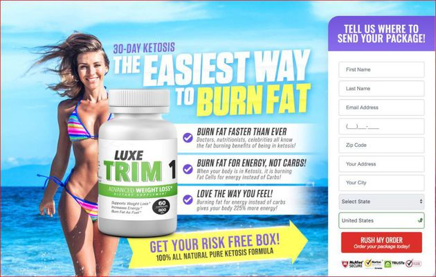 Luxe Trim Keto:The best way of healthy fitness supplement !!!
