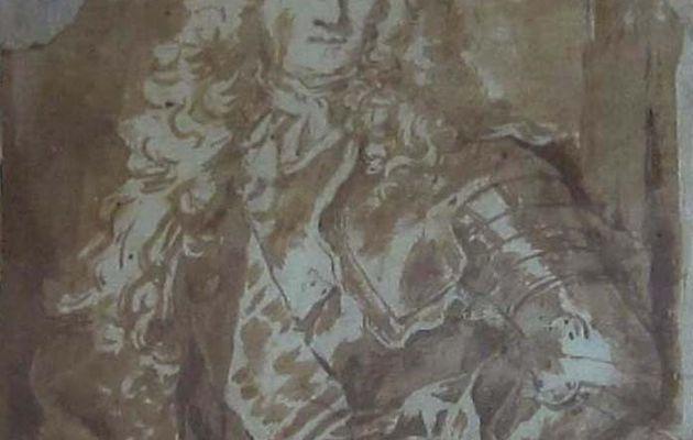 Un militaire bien dans l'esprit d'Hyacinthe Rigaud