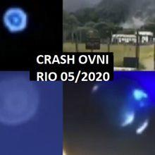 Crash d'un ovni à Magé, au Brésil (reçu par Monique Mathieu) - 26/05/2020.