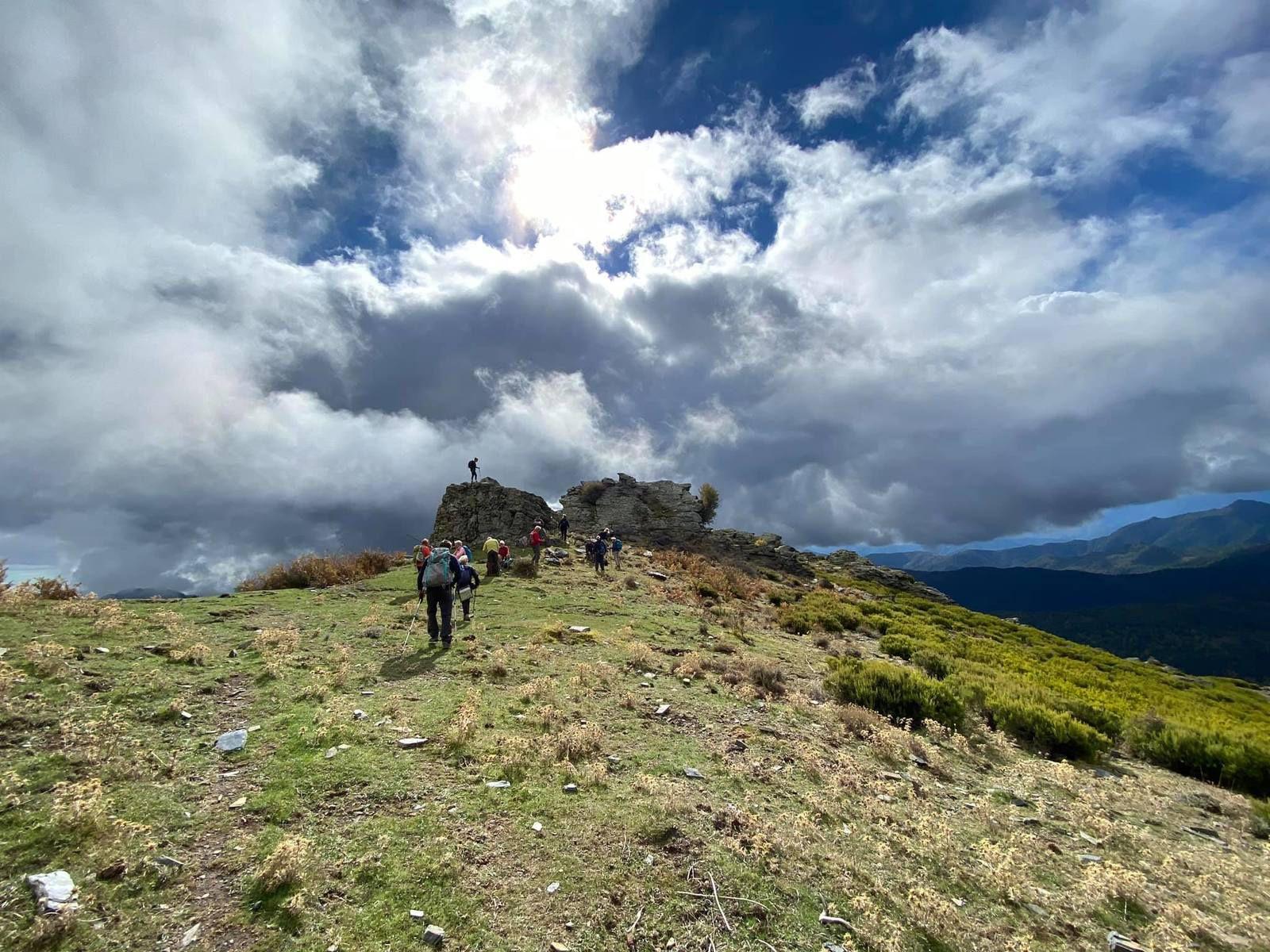 dimanche 18 octobre 2020,  Randonnée au dessus d'Erbajolo, Pointe de l'Orsaja via les cabanes de Peri