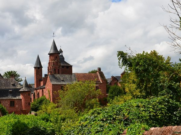 Collonges la rouge (Limousin en camping-car)