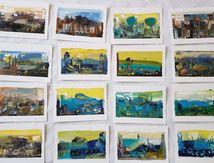 Le pluriel de peindre au format cartes postales -  Peindre surtout  - Muriel CAYET