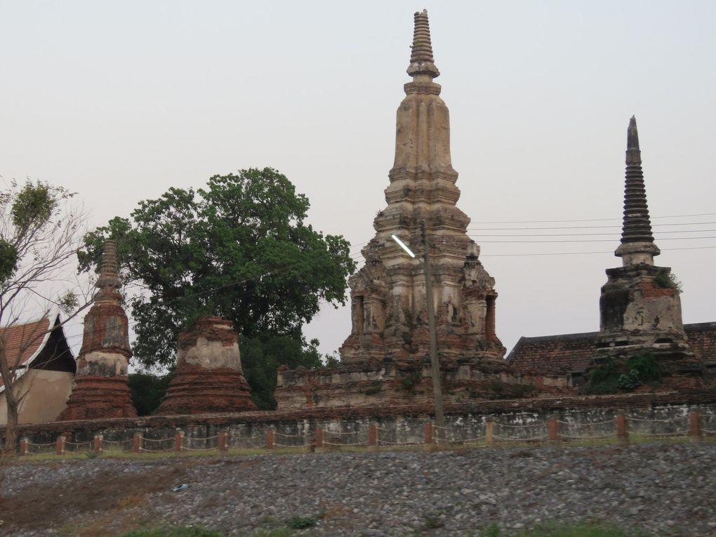 Voyage en Thaïlande..... Suphan Buri et Ayutthaya