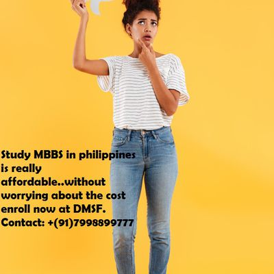 Study MBBS in Philippines is really affordable..!