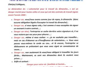 Tract syndicatCGT Auchan Supermarché NAO 2015
