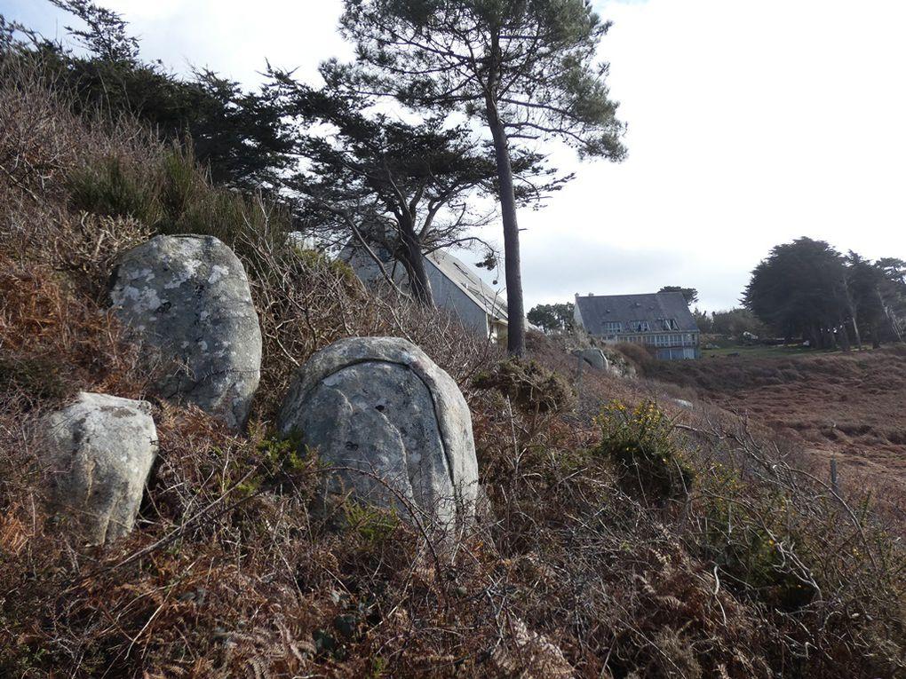 De Tréboul à la pointe des roches blanches