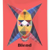 Blend Text Beach Sheet for Sale by Michael Bellon