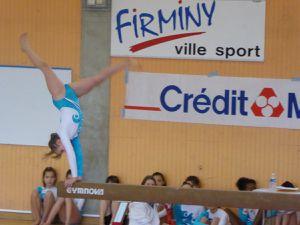 La section gym. artistique féminine de l'audacieuse Notre Dame du Mas organisait sa deuxième compétition pour la section  poussines et jeunesses