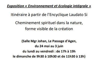 Exposition Laudato Si - Salle Monseigneur Johan