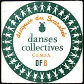 danses collectives - 45t EP disques du scarabée - l'oreille cassée
